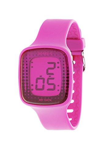 Reloj digital de mujer de las mareas B44067/3, color morado: Amazon.es: Relojes