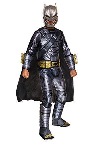 [Rubie's Costume Batman v Superman: Dawn of Justice Armored Batman Deluxe Child Costume, Small] (Aquaman Halloween Costumes)