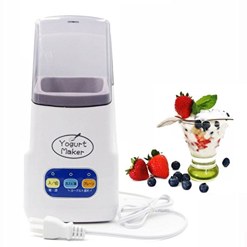 Yogurt Maker,1.0L Capacity Mini Automatic Homemade Greek Yogurt Machine (Blue)