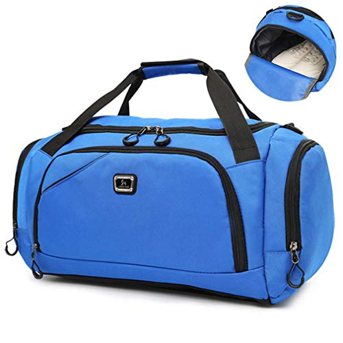 Handbag Blue Women Deep Travel Sorport Duffle Training Bags OEBp6q