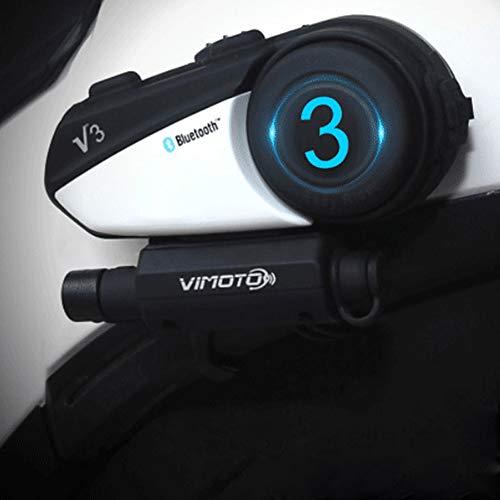V3 Helmet Bluetooth Headset Motorcycle Multi-Functional Headphones for Two Way Raido