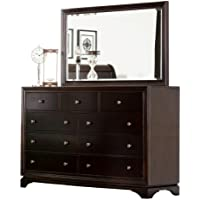 Abbyson Living Lancaster 9-Drawer Dresser and Mirror