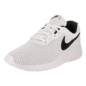 Nike Women's Nike Tanjun White/Black Running Shoes Size 8