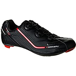 Louis Garneau Course 2LS Road Cycling Shoes (Black, 38) - Men's