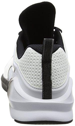 Puma Fierce Lace Wn's, Zapatillas Deportivas para Interior para Mujer Blanco (Puma White-puma Black 03)