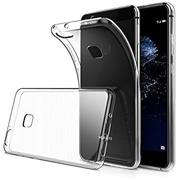 design senza tempo 90b7b d250a SmartLike Protective + Scratch Resistant Silicon Back Cover Case for Huawei  P10 Lite (Transparent)