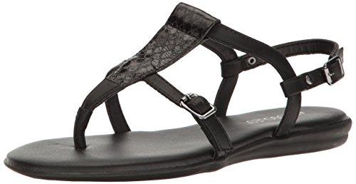 Aerosoles Women's Obstachle Course Gladiator Sandal, Black Snake, 9 M (Aerosoles Gladiator Shoes)