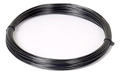 Polyfibre Black Venom Rough   1.25mm 12m Cut from Reel