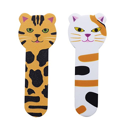 Cat head nail files