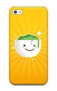 Forever Collectibles Smiley Bowl Hard Snap-on Iphone 5c Case WANGJING JINDA