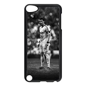 Custom Cover Football Real Madrid CF Cristiano Ronaldo CR7 for iPod Touch 5th Hard Plastic Case