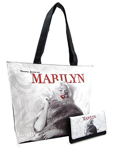 Marilyn Monroe Large Purse Wallet Set, Norma Jeane as Marilyn ()