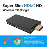 [ Upgraded Version ] Wireless HDMI Screen Mirror Dongle, LECMARK WiFi Display TV Dongle Receiver 1080P Sharing Wireless Streaming TV Stick for iOS/Android/Mac| Support Netflix YouTube Amazon Video