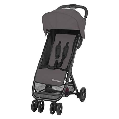 MON BEBE - Carrito de bebé ultra compacto (3,5 años, hasta 15 kg), color gris a buen precio