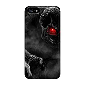 Awesome Creepingdeath Flip Case With Fashion Design For Iphone 5/5s