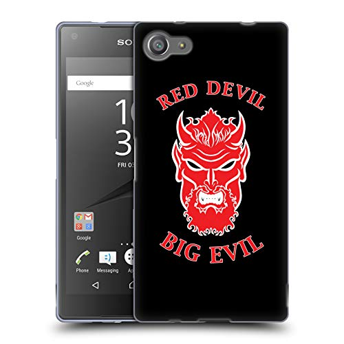 Official WWE Undertaker Red Devil Big Evil 2018/19 Superstars 4 Soft Gel Case for Sony Xperia Z5 Compact