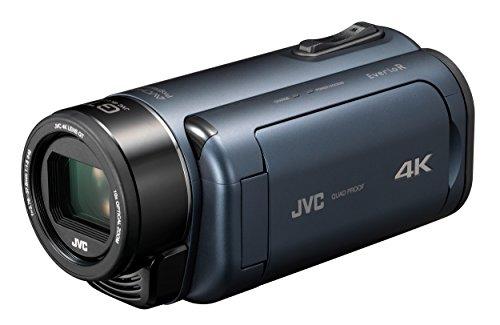 JVCKENWOOD JVC ビデオカメラ Everio R 4K撮影 防水 防塵 ディープオーシャンブルー GZ-RY980-Aの商品画像