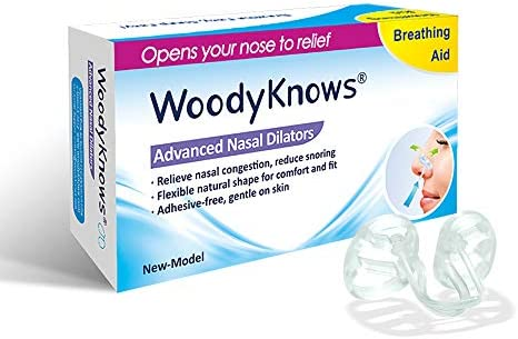 WoodyKnows Anti Snoring Advanced Reduction Breathing