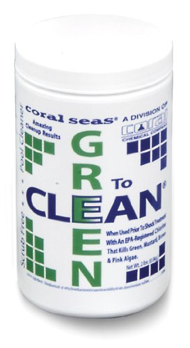 Coral Seas CS-1060 Green to Clean Pool Cleaning Supplies