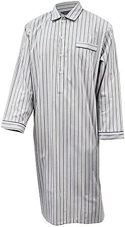 Lloyd Attree & Smith Camisón para Hombre 100% algodón a Rayas ...