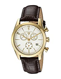 Swiss Legend Men's 22038C-YG-02-BRWS Peninsula Analog Display Swiss Quartz Brown Watch