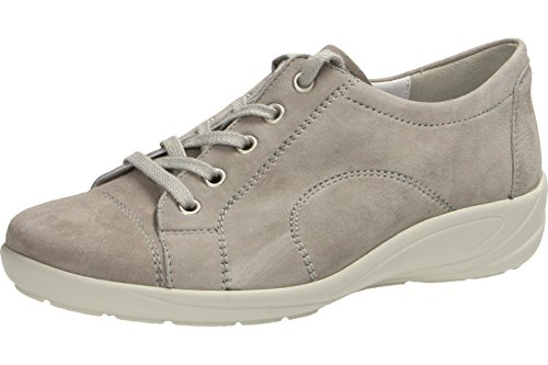 B6055 grey Flats grey 015 Up Lace Women's Perle042 015 Semler 042 ZwHqTS