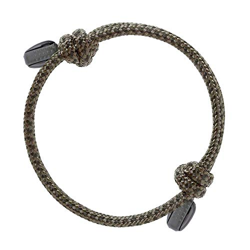 - RIMAD Stylish Nautical Rope Paracord Nylon Unisex Bracelet (Army Green/Green)