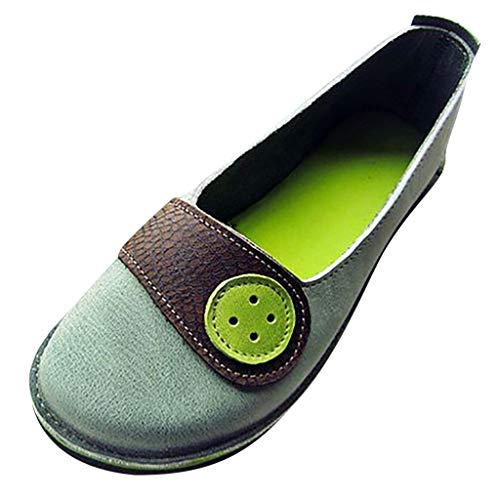 - Answerl Retro Womens Light Non-Slip Flats Casual Shoe Shallow Mouth Single Shoes Sandals Peas Shoes