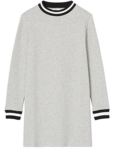 Bordures Gris FIND Shirt Rayes Sweat Femme Robe SttqzAw