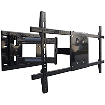articulating arm long extension tv wall mount bracket 31 full extension 4 folded. Black Bedroom Furniture Sets. Home Design Ideas