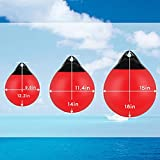 Inflatable Vinyl Mooring Anchor Buoy,Round Boat