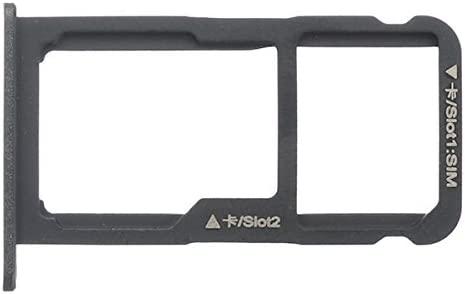 BisLinks® Reemplazo para Huawei P8 Lite 2017 Honor 8 Lite Sim Micro SD Tarjeta Tray Holder Negro Pra-LX1 Reemplazo Parte