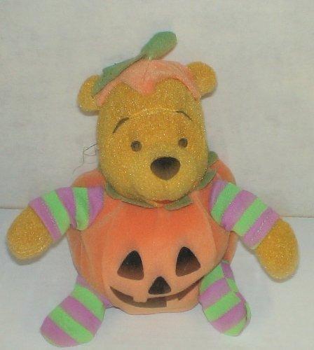 Unique Disney Halloween Winnie the Pooh Jack-o-lantern Pumpkin 6