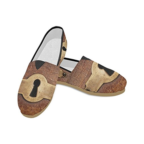 477c6bb13e63 Interestprint Blomst Jeans Loafers Casual Sko For Menn Kvinner Jern Lås ...