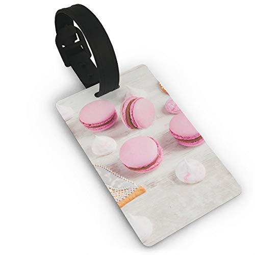 (Luggage Tags with Genuine Hand Strap Cakes and Biscuits Travel Suitcase Bag Tag Identify)