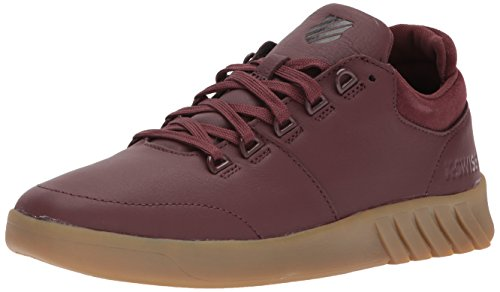 K-Swiss Men's Aero Trainer SE Sneaker, Rum Raisin/Gum, 9.5 M - Men Aero