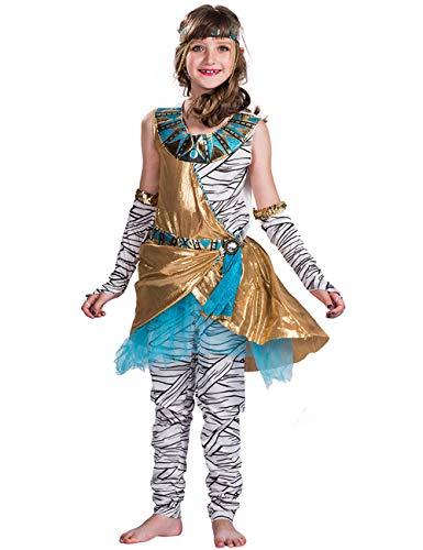 A&J DESIGN Toddler Girls' Mummy Costume Dress (Mummy, -