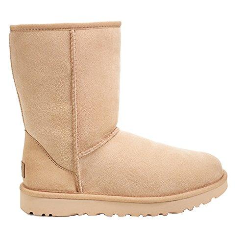 UGG Women's W Classic Short II Fashion Boot, Amber Light, 7 M US (7 Boots Ugg Cheap Womens Size)