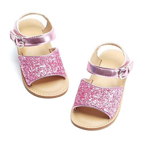 - Bear Mall Girls Shoes Soft Rubber Princess Flat Shoes Summer Baby Girl Sandals(Toddler/Little Kid) ¡