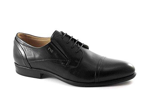 Schuh Zeremonie eleganten 5101 BLACK GARDENS schwarzen Zehe Derby Nero Mann RqXEA0w