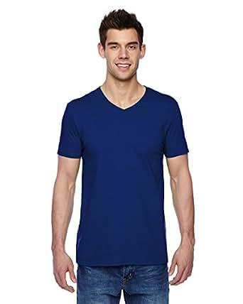 FOL Mens Jersey V-Neck T-Shirt (SFVR) -ADMIRAL BL -S