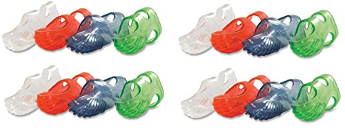 Lee Tippi Micro Gel Fingertip Grips - Size 5 Small - 10 Pack (S61050) (Set of 4) by Lee Products Co.