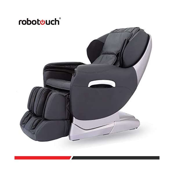 41wkEFaIGoL Robotouch Maxima Luxury Ultimate Full Body Zero Gravity Massage Chair (Black)
