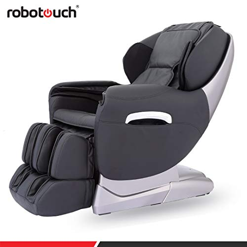 41wkEFaIGoL Robotouch Maxima Luxury Ultimate Full Body Zero Gravity Massage Chair (Black)