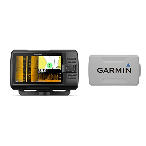 (Garmin STRIKER Plus 7sv with CV52HW-TM Transducer and Protective Cover, 7 inches 010-01874-00)