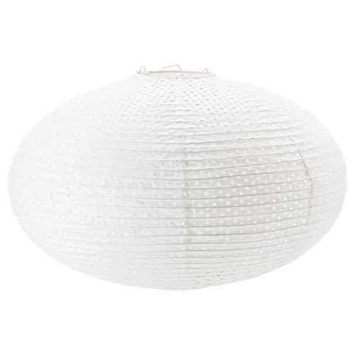 Ikea Solleftea Pendant Lamp Shade, white, round -