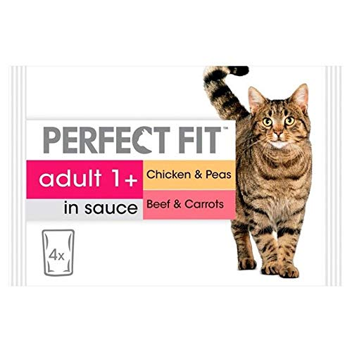 4X Cat Pouches Adult 1+ Mixed Meaty 4 x 85g