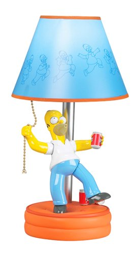 Homer SIMPSONS Animated Lamp - Table Lamps - Amazon.com