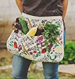 The Harvest Apron by Fluffy Layers Gardening Apron, Gathering Apron, Apron for Gardening
