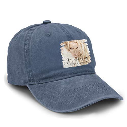 Britney Spears Hat - MLXAEYUTG Hat Britney Spears Femme Fatale Women Men Cute Adjustable Baseball Cap Navy